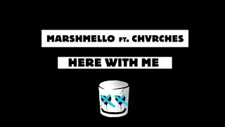 Marshmello-Here-With-Me-Feat.-CHVRCHES-Official-Lyric-Video